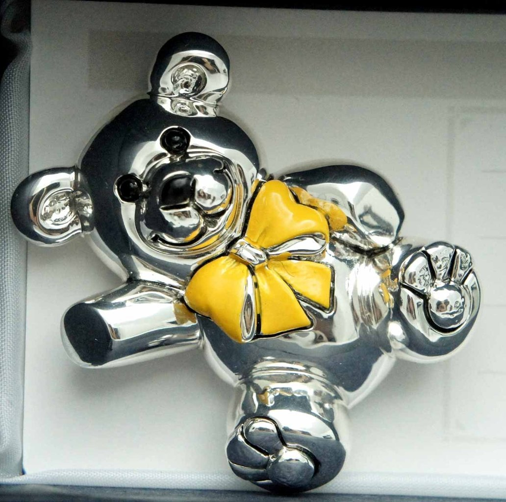 Silver Bear Magnets