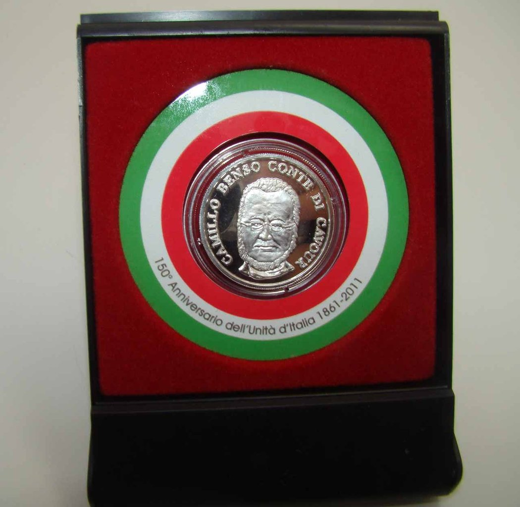 Coin Silver 150 ° Unification of Italy
