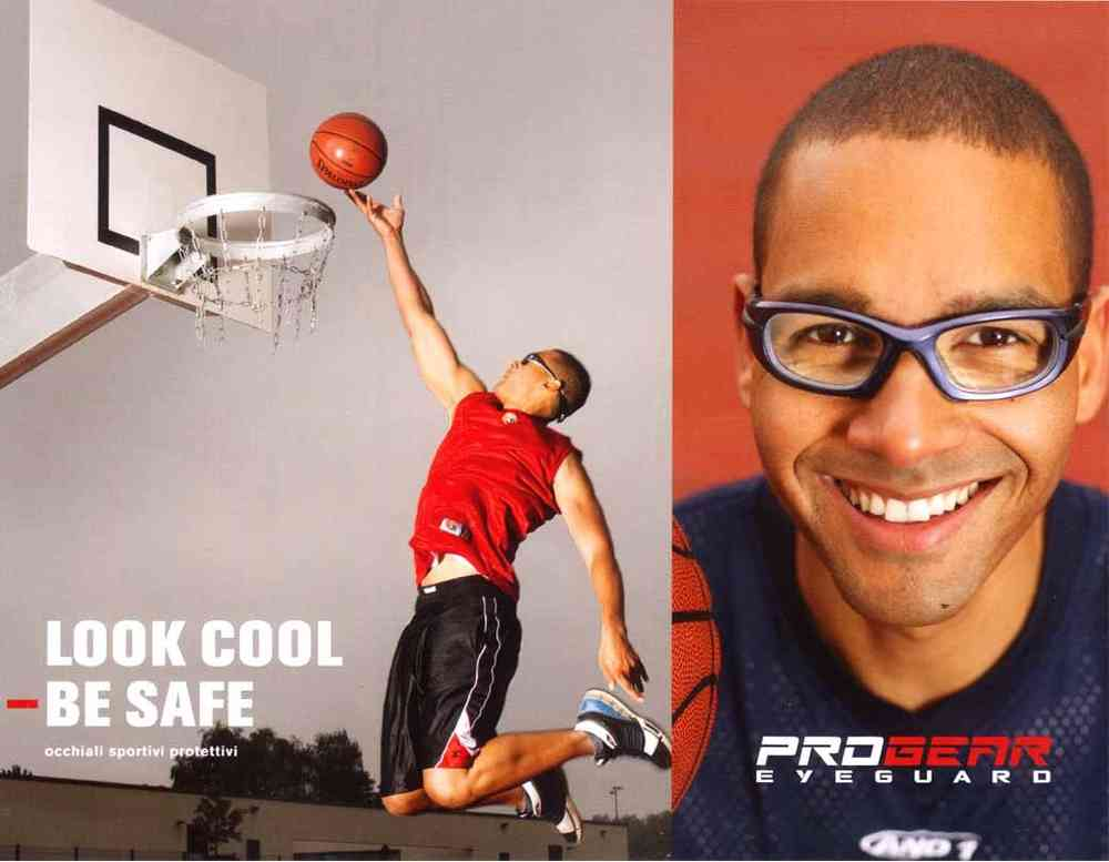 aef6bc0fbc Progear Eyeguard L protective sport glasses prescription lenses