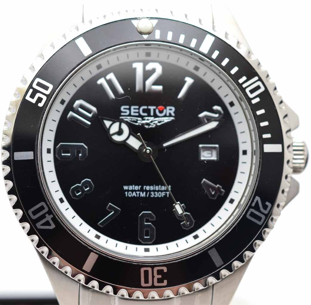 SECTOR 230 GENT BLACK DIAL