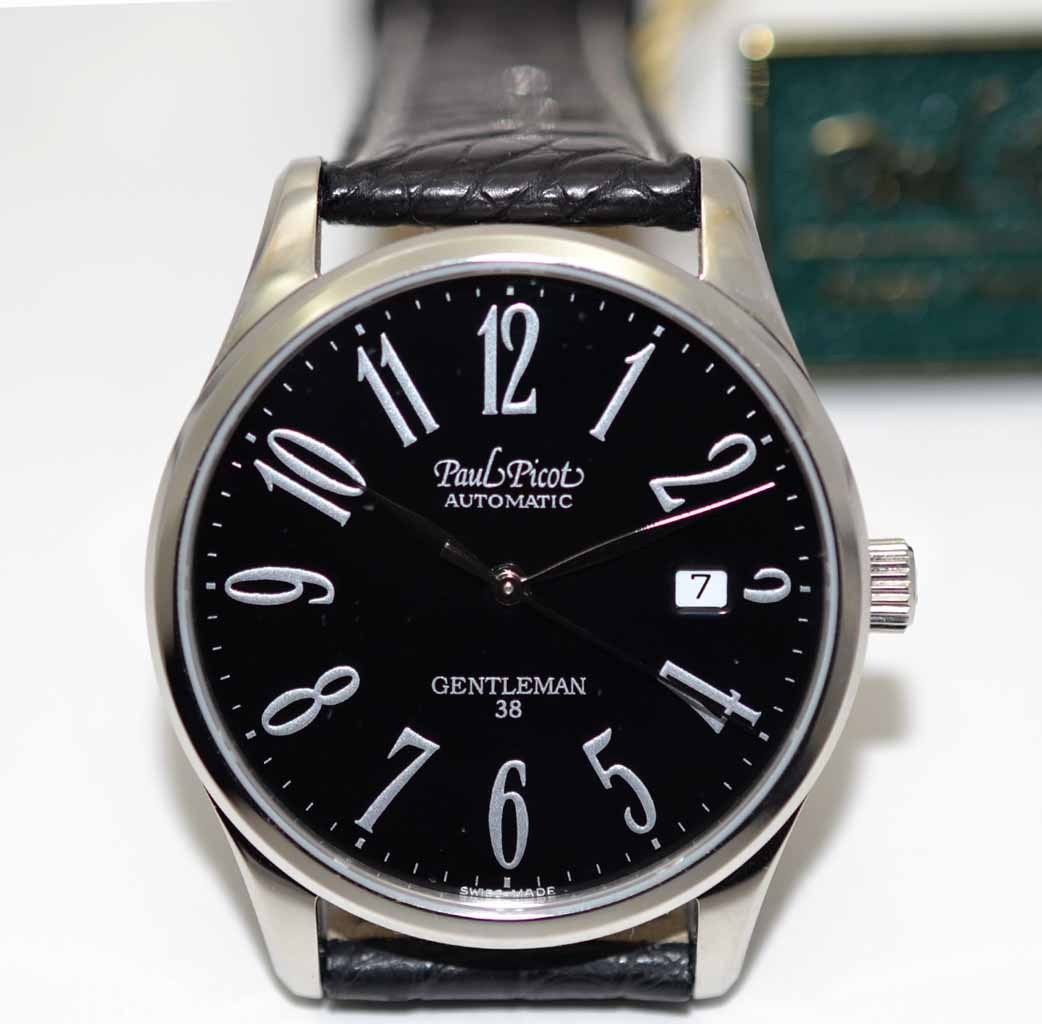 Paul Picot Gentleman 38 Automatic