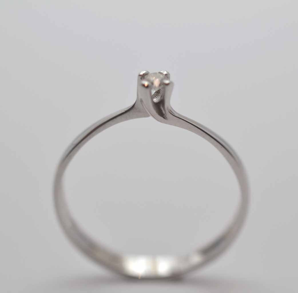 Anello Solitario Diamante 010.229.C05