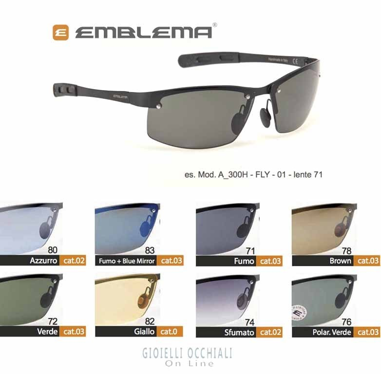 cbac9366d3 A-300 H Emblema golf sunglasses
