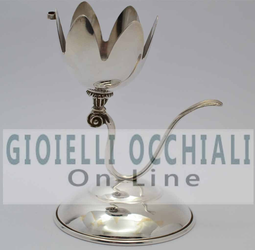 Egg cup silver