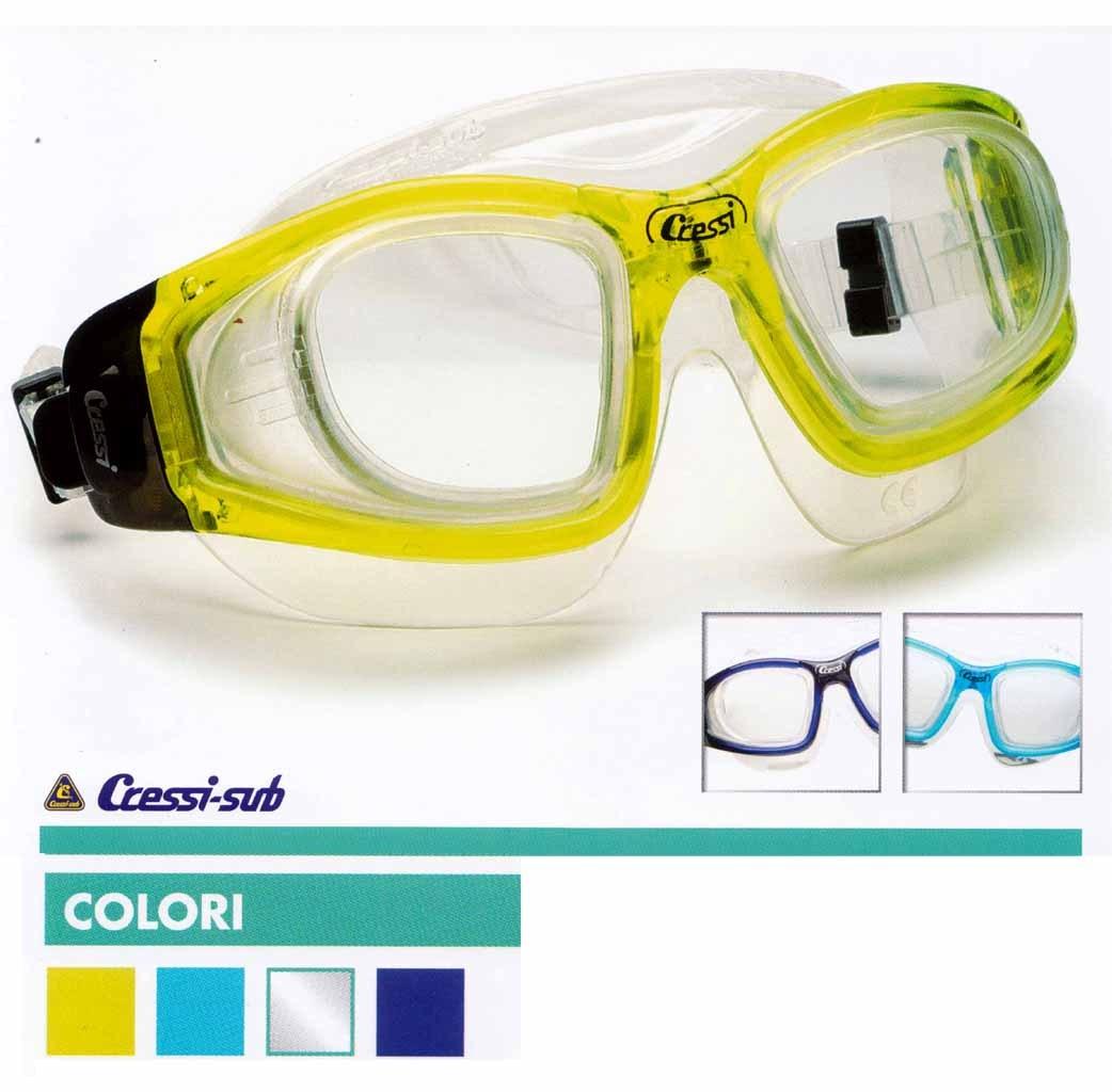 6075eef9f5 Cressi prescription dive mask Galileo with prescription lenses