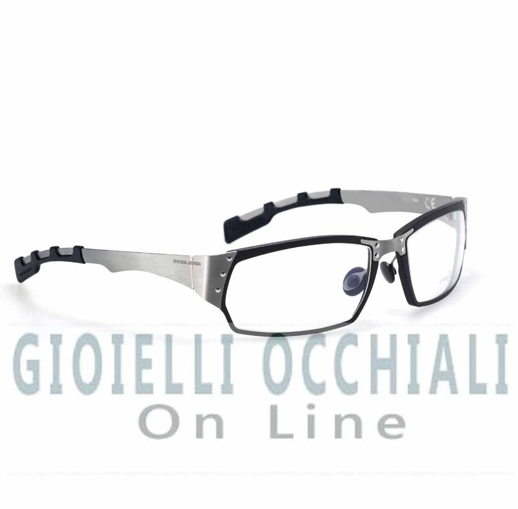 Occhiali emblema occhiali sportivi vista e sole per golf e for Occhiali in titanio da vista