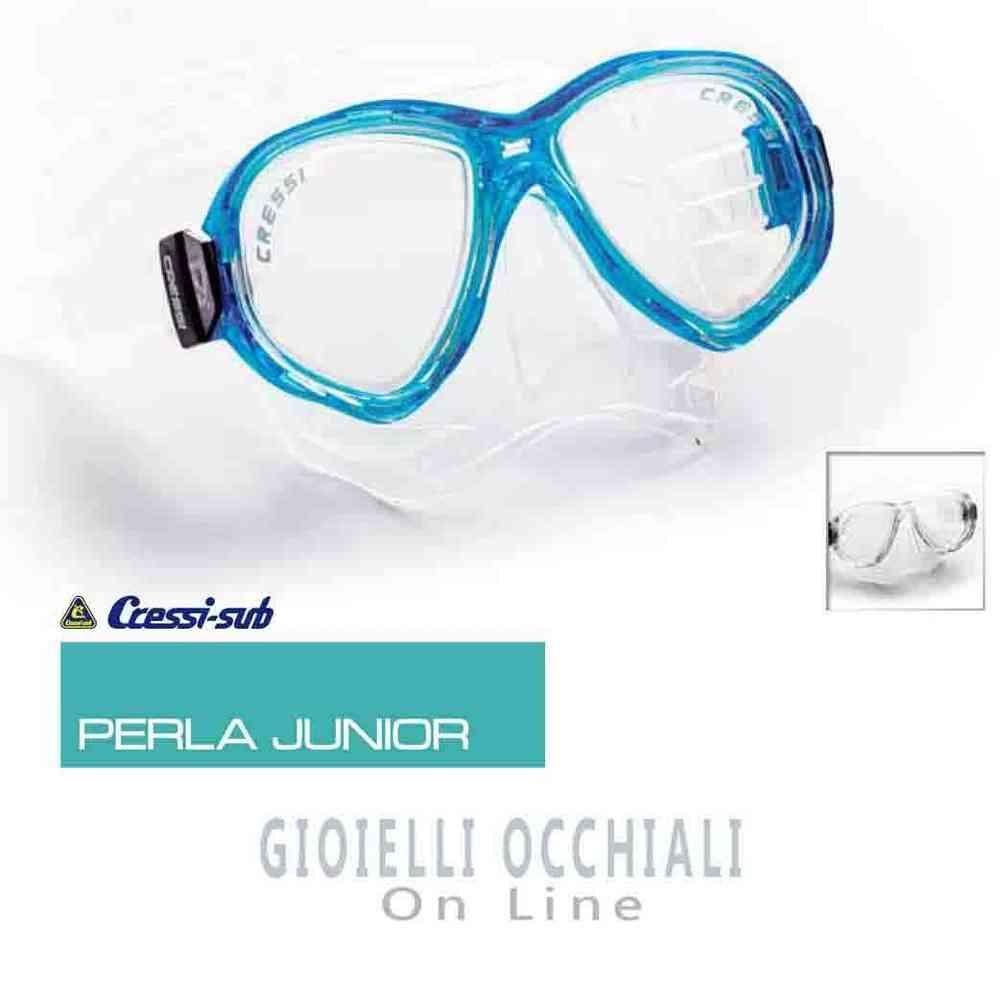 30d24d9aa9b Cressi Sub Perla Junior chindren s diving masks also prescription