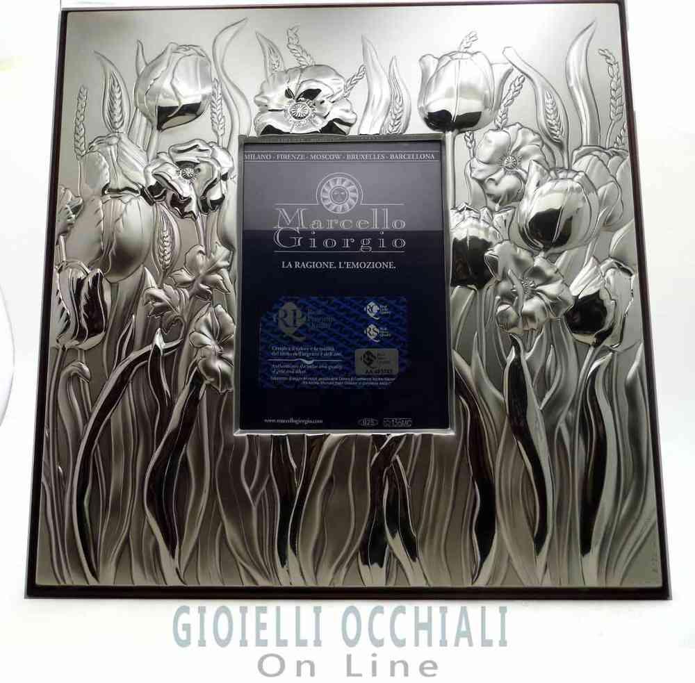 Cornice in argento, Marcello Giorgio. Cornici preziose per foto