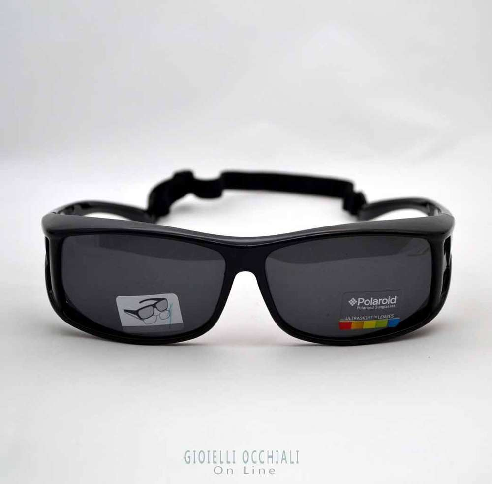 ab672f38d4 Polaroid Suncovers fit comfortably over eyeglasses frames.