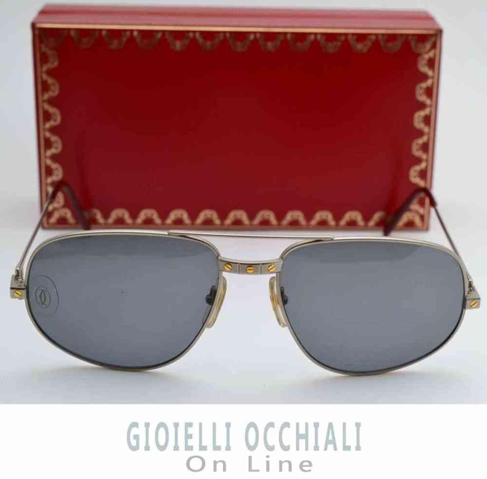 18a58e93e7 Cartier Santos sunglasses original Cartier vintage sunglasses