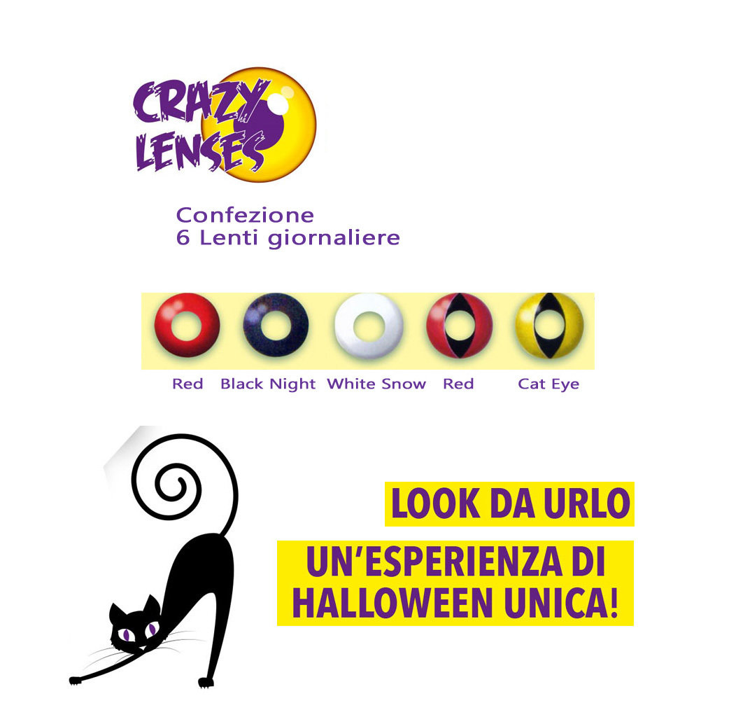 Crazy Lens daily Contact lenses colored
