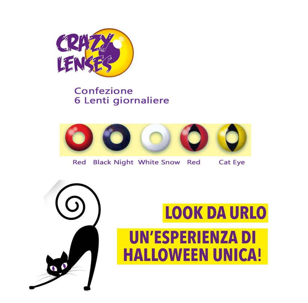 Crazy Lens Lenti a contatto colorate giornaliere. Offerta online 9cdb6fbb1b66