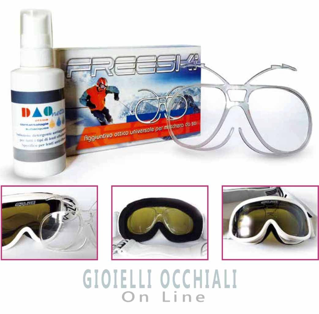 Freeski Adults ski goggle prescription insert