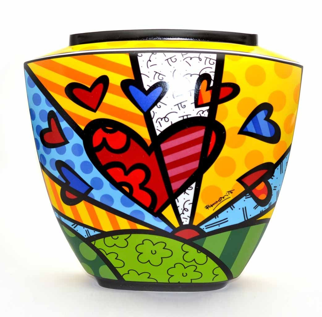 Vaso Romero Britto A New Day