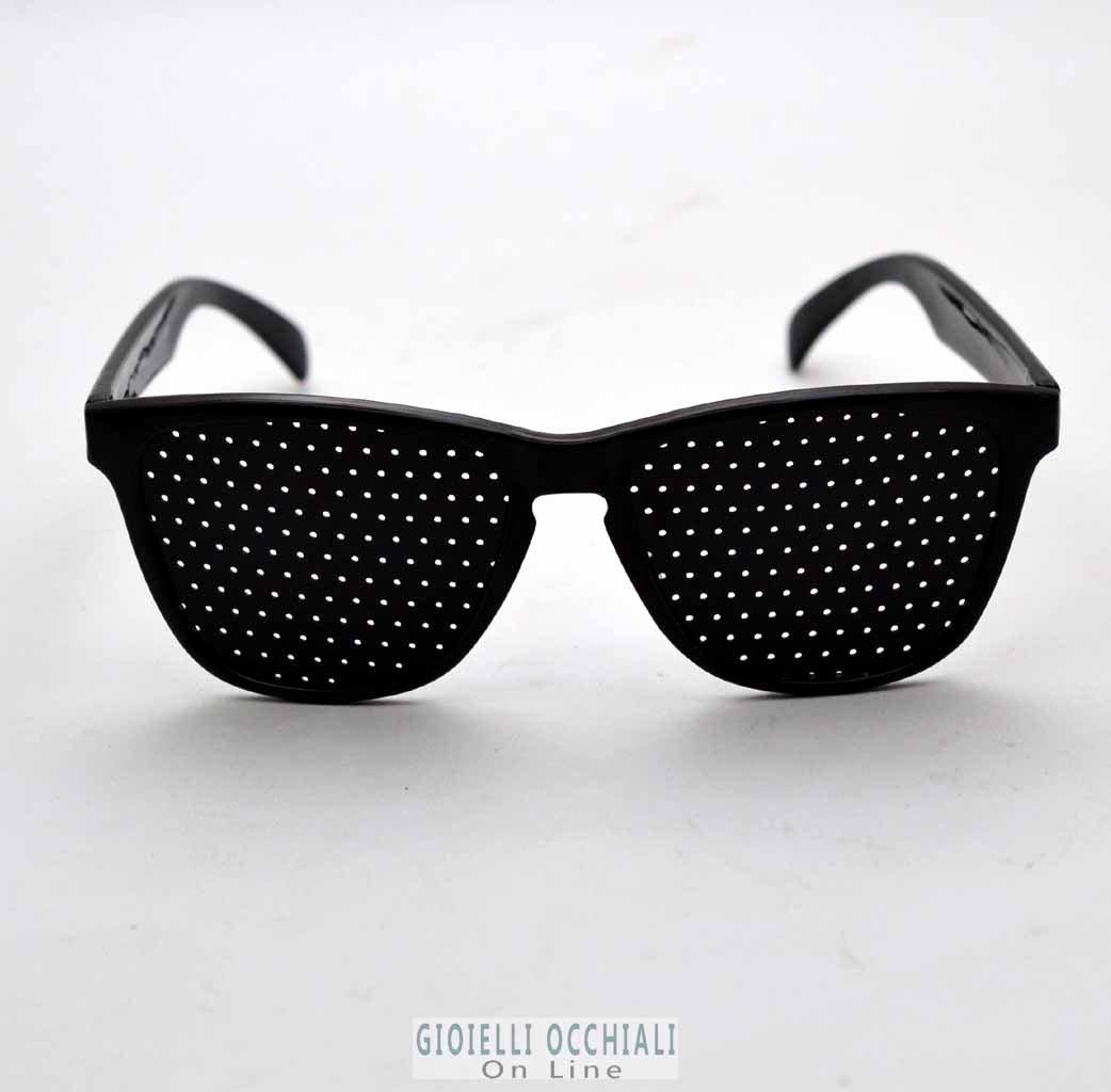 Pinhole Glasses Myopia Presbyopia. Eyeglasses With Holes