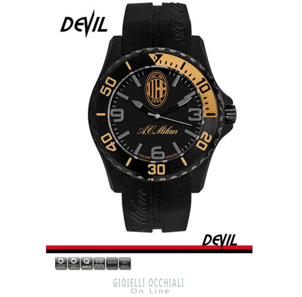 Devil Milan AC watches M1393UNY