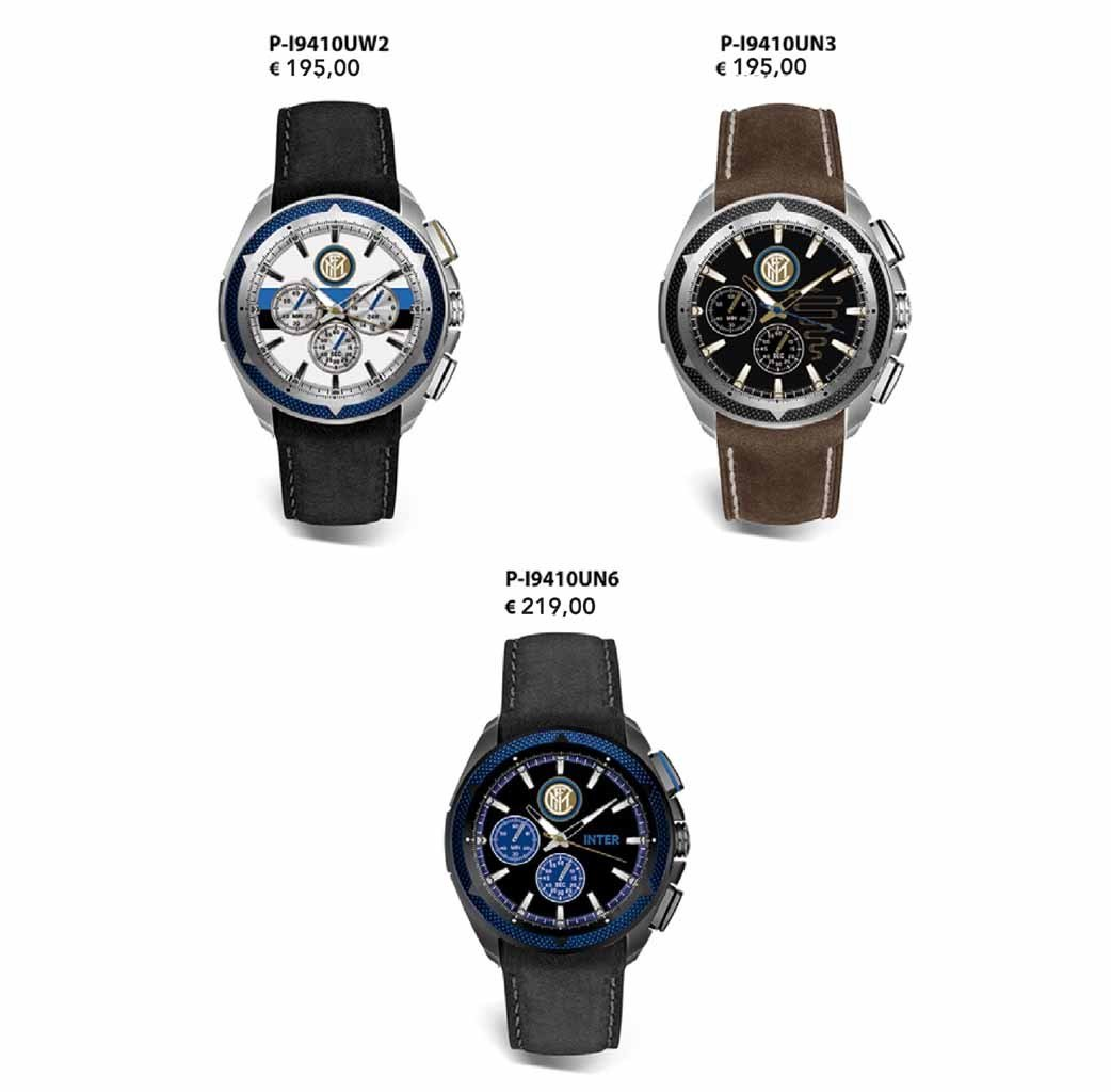 Visconteo Inter chrono watches Inter football club watches ...