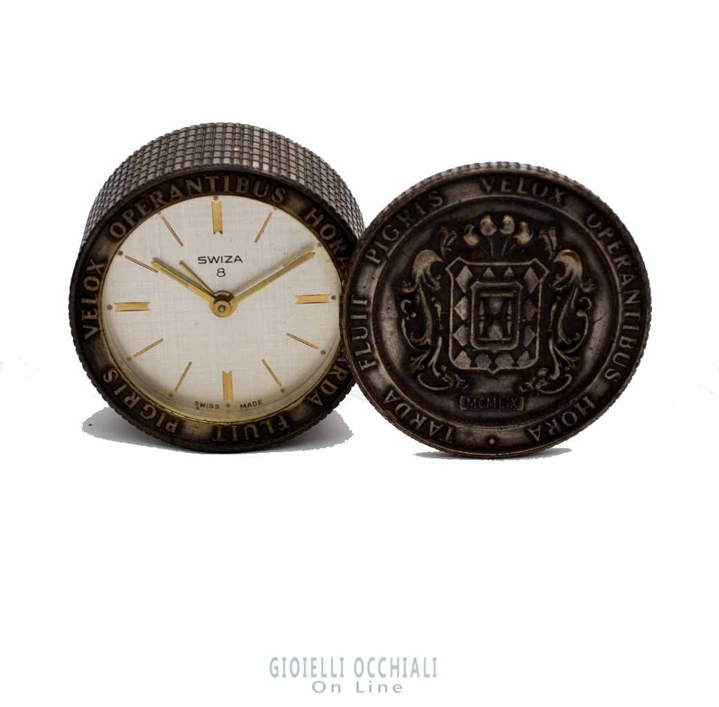 Swiza horloge de table vintage