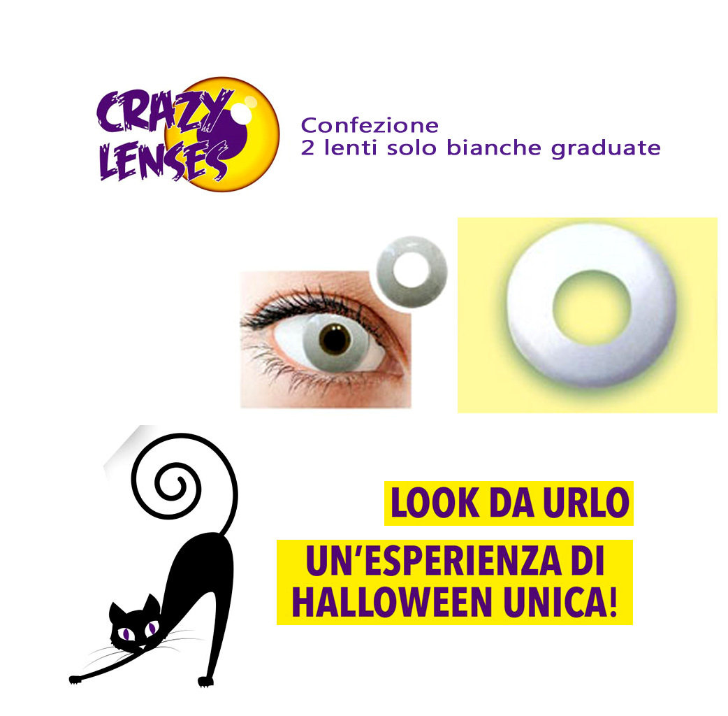 Crazy Lens lenti a contatto colorate graduate