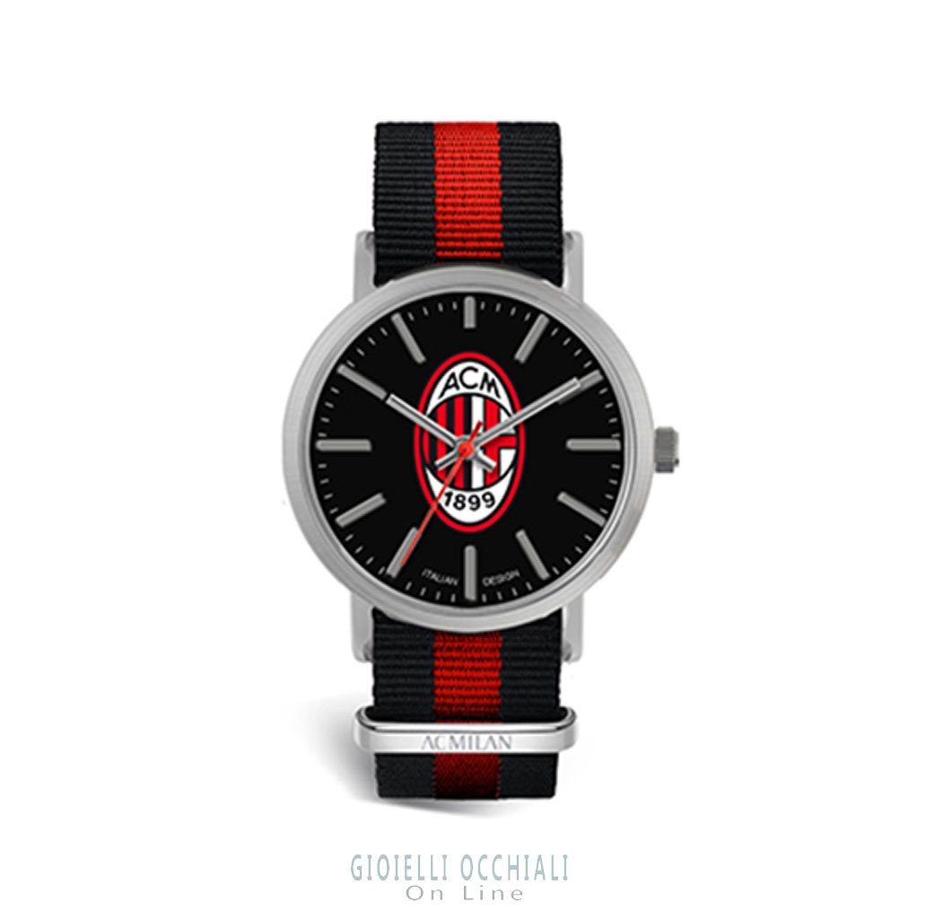 Tidy 39 mm AC Milan quartz watches MA415XN2
