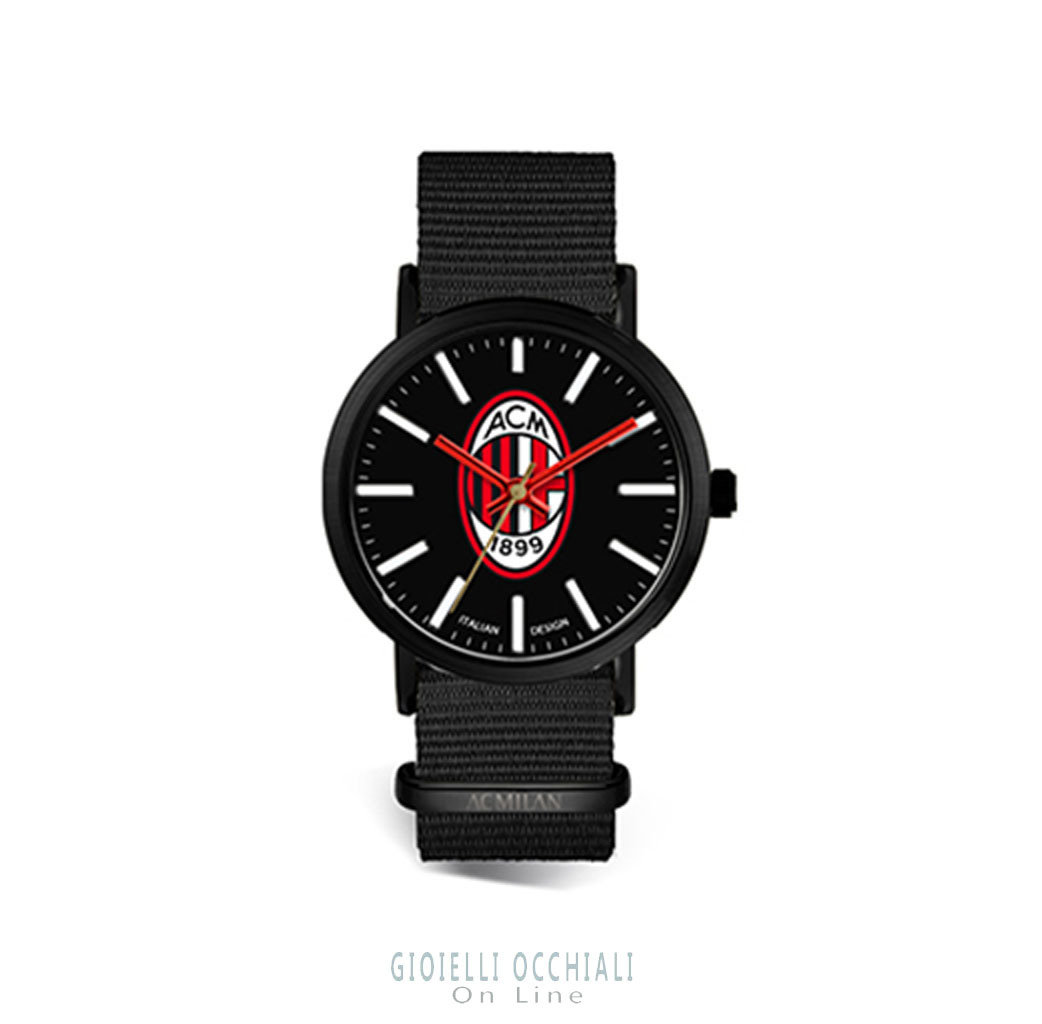 Tidy 39 mm AC Milan quartz watches MN415XN2