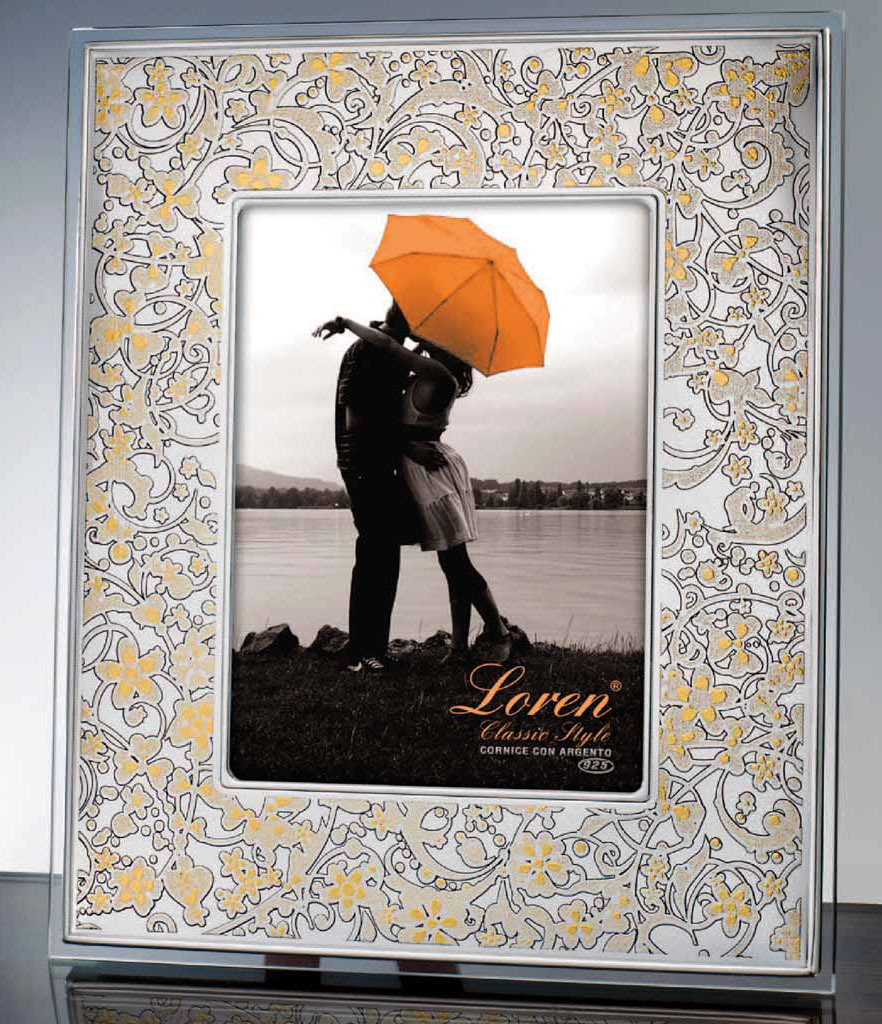 Cornici in argento portafoto in cristallo a torino e shop for Foto cornici online