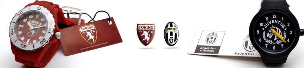 Watches Juventus and Torino Football Club
