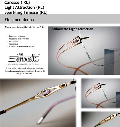 San Francisco 32f09 b0b2b Silhouette Occhiali da Vista e Sole - Gioielli Occhiali Online